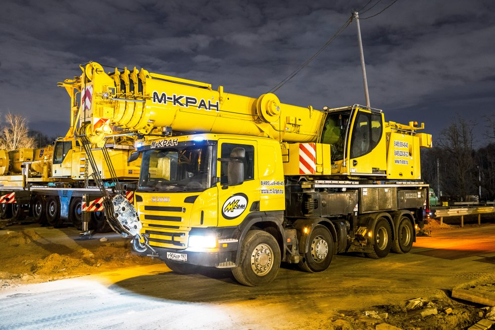 Liebherr LTM 1060-4.1 (60 тонн)