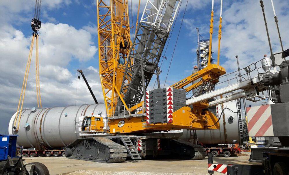 Аренда гусеничного крана 750 тонн Liebherr LR 1750 / 2