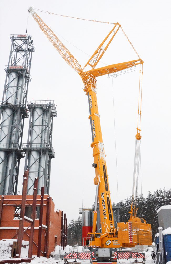 Аренда крана 500 тонн Liebherr LTM 1500-8.1