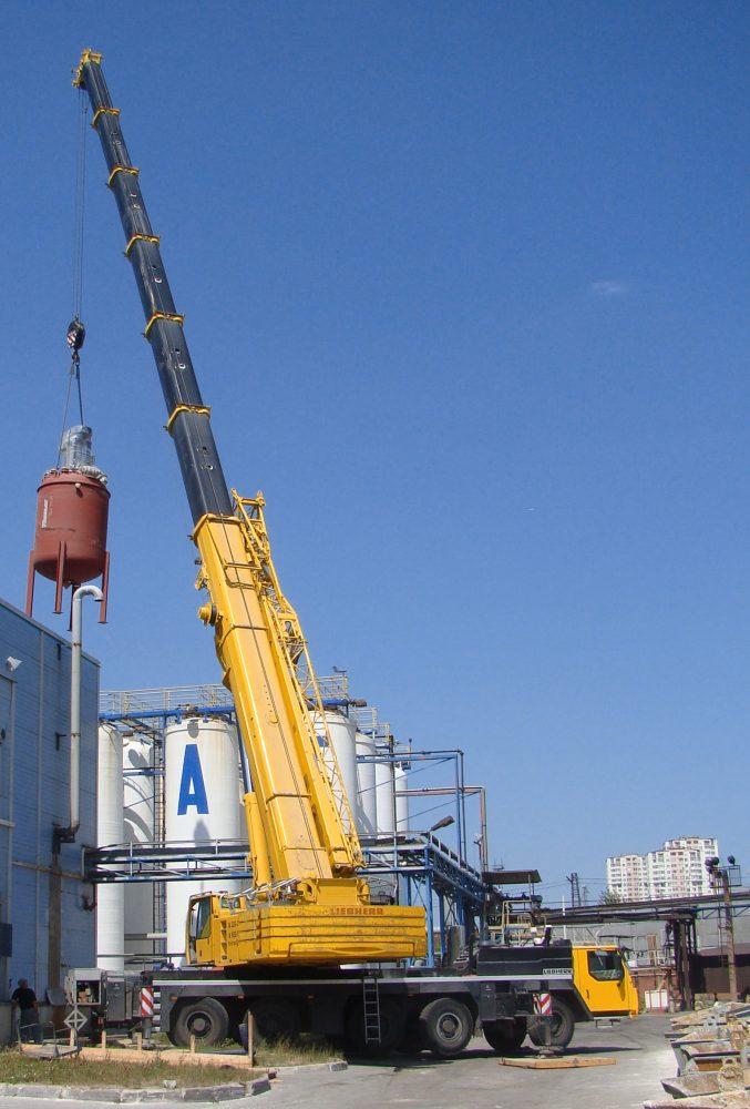 Аренда крана 200 тонн - Liebherr LTM 1200-5.1