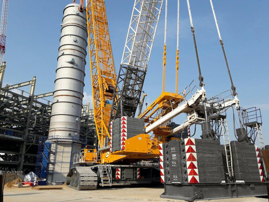 Аренда крана 600 тонн Liebherr LR 1600