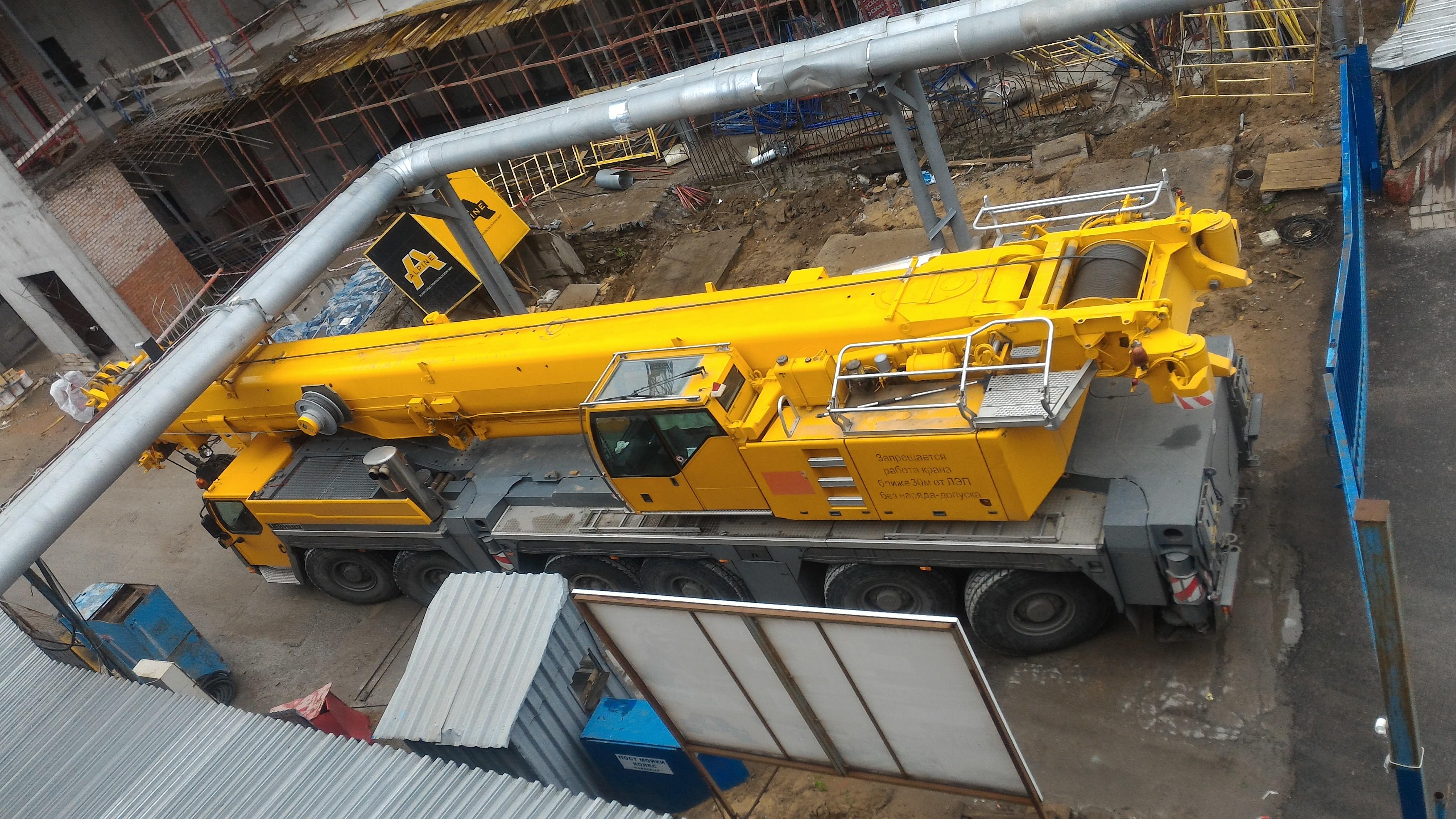 Аренда автокрана 300 тонн - Liebherr LTM 1300-6.1