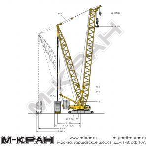 Габариты Liebherr LR 1600/2