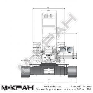 Габариты Demag CC 8800-01