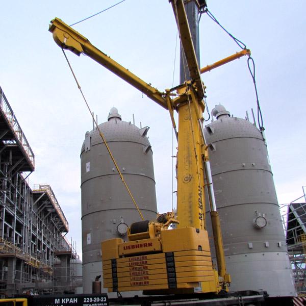 Строительство нефтеперерабатывающего завода в Тобольске