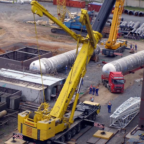Монтаж газовой установки