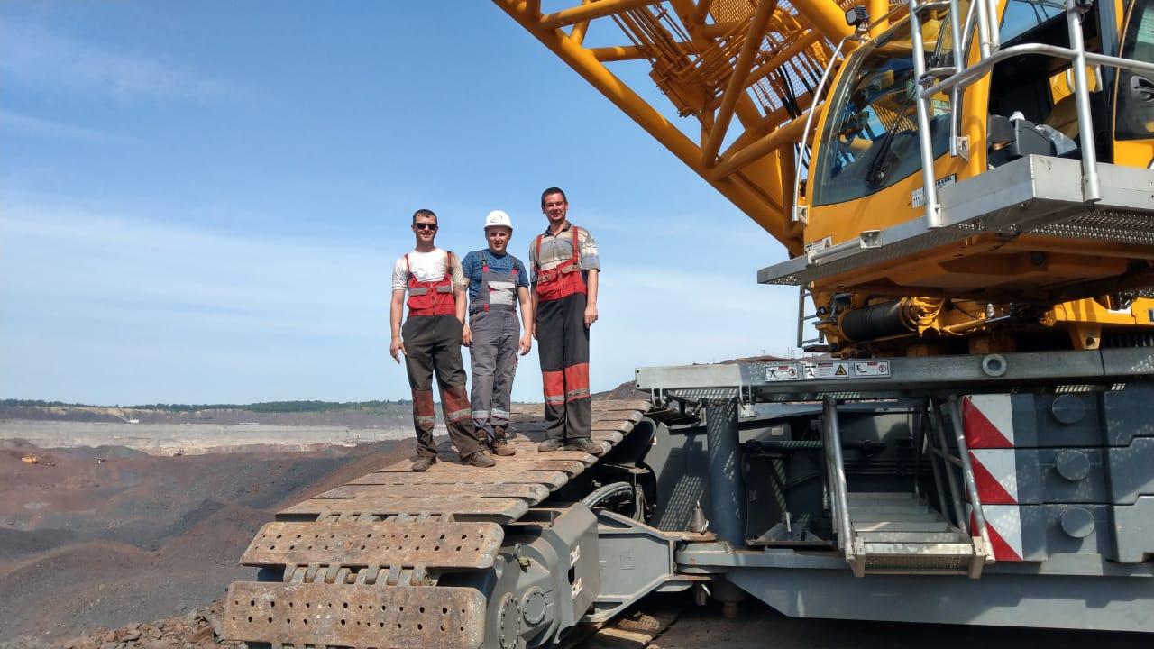 Аренда гусеничного крана 750 тонн - Liebherr LR 1750