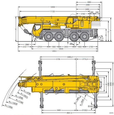 Аренда крана 95 тонн — Liebherr LTM 1095-5.1